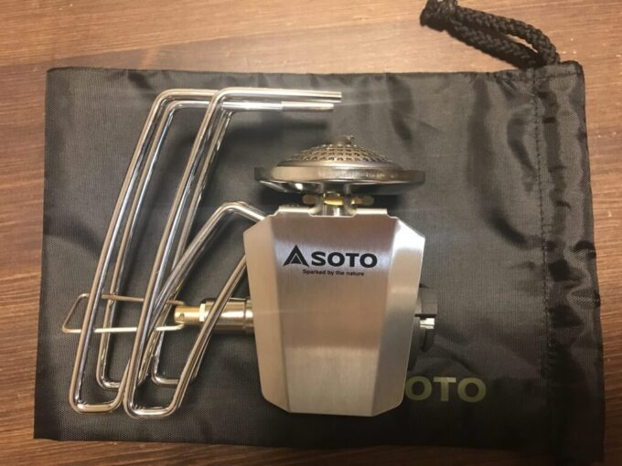 SOTOレギュレーターストーブST-310