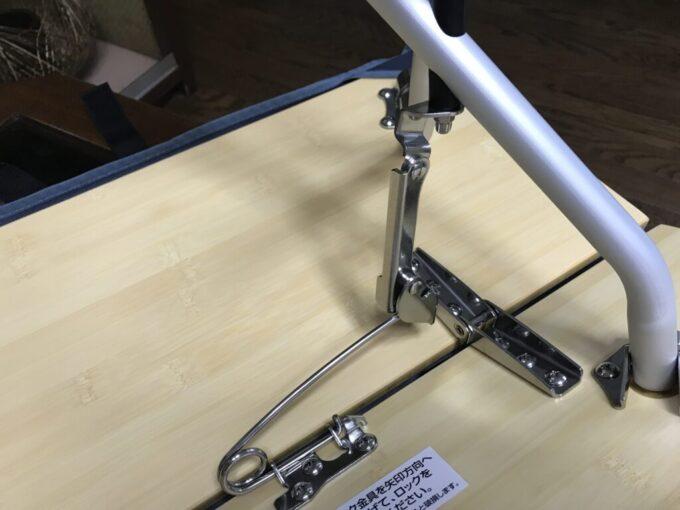 【スノーピーク】ワンアクションローテーブル竹(LV-100T)