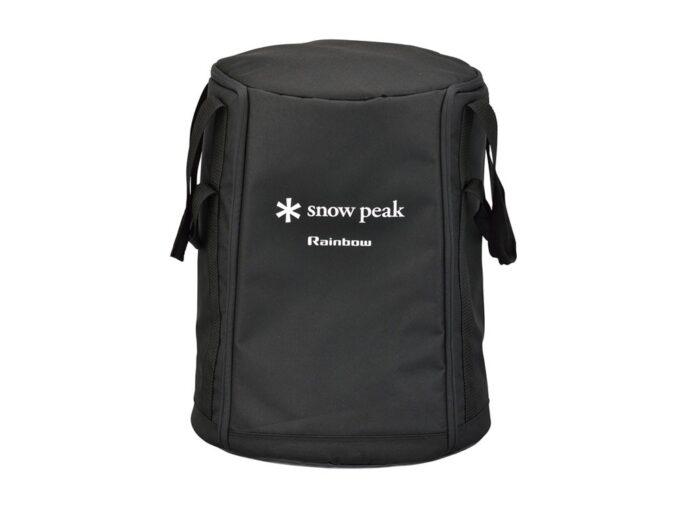 スノーピークのレインボーストーブバッグ