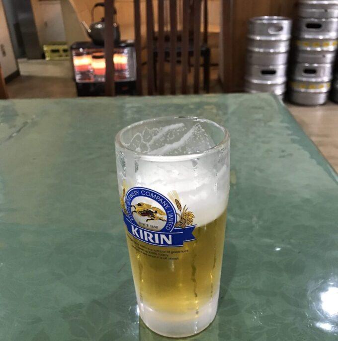 風呂上りのビール