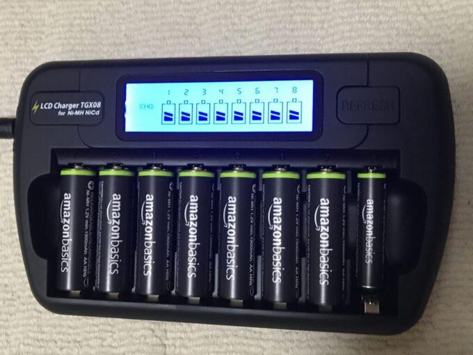 TGXの充電器