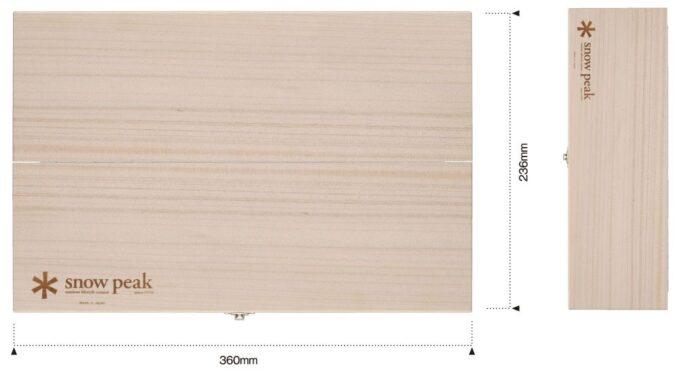マナイタセットLサイズの寸法