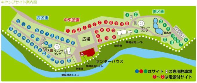 久多の里オートキャンプ場_map