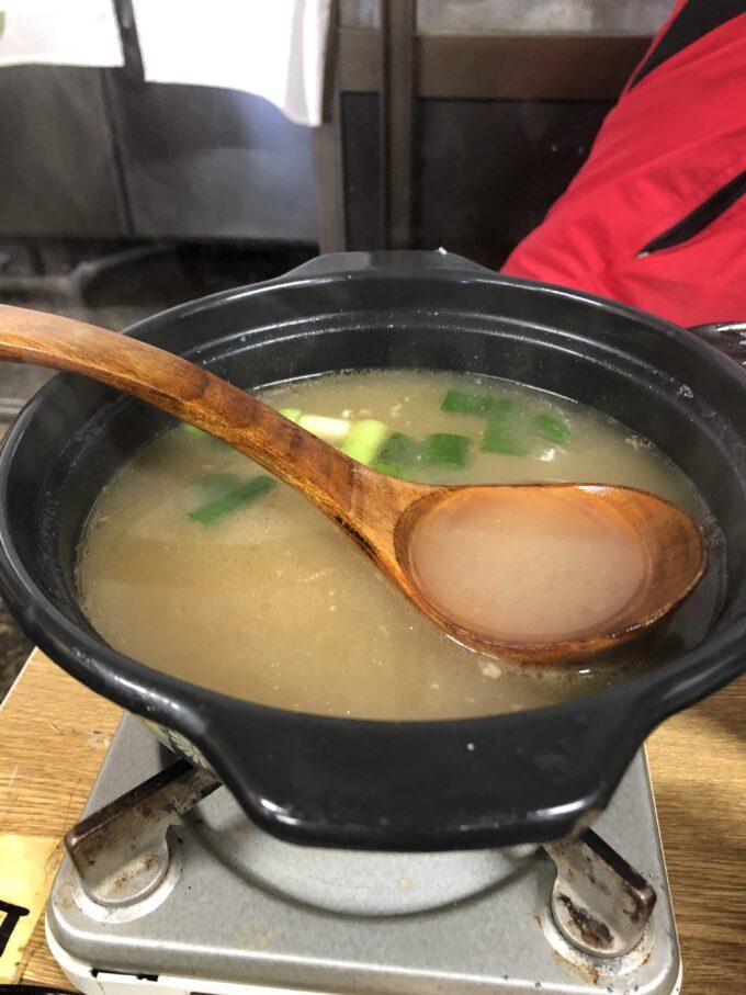 わさびスープ