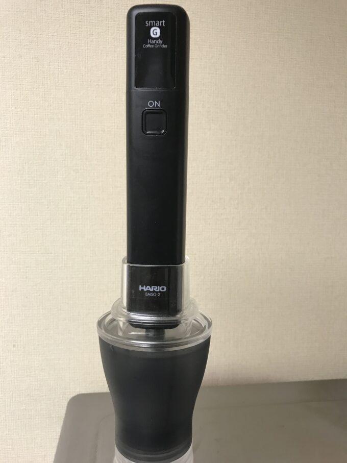 HARIO (ハリオ) スマートG電動ハンディーコーヒーグラインダー
