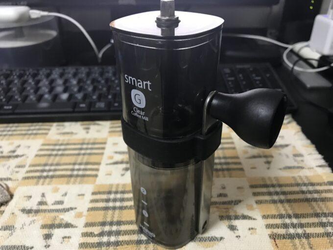 HARIO(ハリオ) コーヒーミル・スマートG 透明ブラック MSG-2-TB