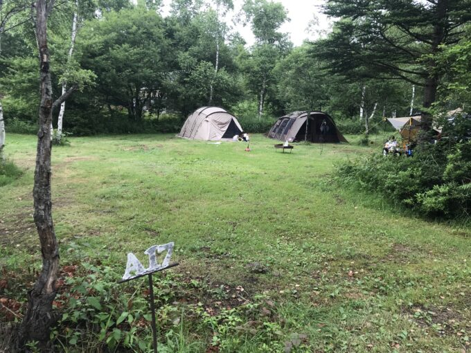 無印良品 南乗鞍キャンプ場