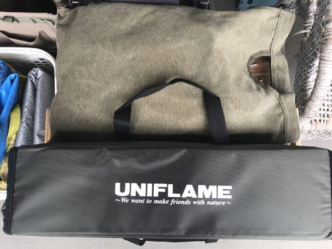 ユニフレーム 焚き火ツールBOX カーキグリーン